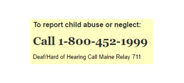 Child Abuse & Neglect Reporting